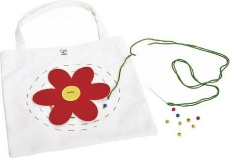 Hape Flower Power Tote Arts Crafts [E5108]