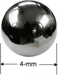 Magstar NEODYMIUM SPHERICAL MAGNETS 4-mm DIAMETER 25Pcs GRADE N35