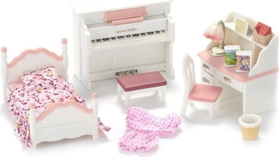 sylvanian families girls room set. beautiful ideas. Home Design Ideas