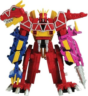 Power Rangers Dino Charge Megazord Action Figure Red