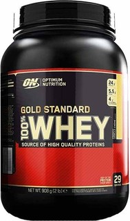 Optimum Nutrition Gold Standard 100 Whey Protein Powder, 2 Lbs Mocha Cappuccino 89.0000