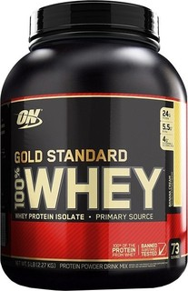Optimum Nutrition Gold Standard 100 Whey Protein Powder, 5Lbs Banana Cream 165.0000