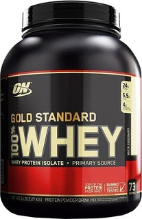 Optimum Nutrition Gold Standard 100 Whey Protein Powder, 5Lbs White Chocolate 165.0000