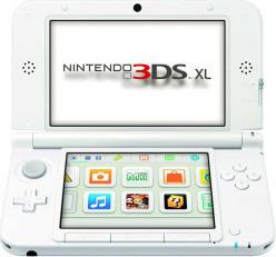 Nintendo 3DS XL, White [PAL]