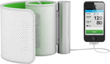 Withings Smart Blood Pressure Monitor iPod iPhone and iPad