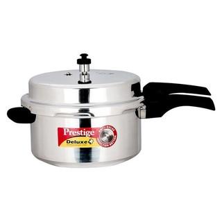 Prestige Aluminum Deluxe Plus Pressure Cooker 7.5 Liter Silver - MPD10703