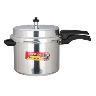 Prestige Deluxe Plus Pressure Cooker 12 Liter Silver - MPD10705