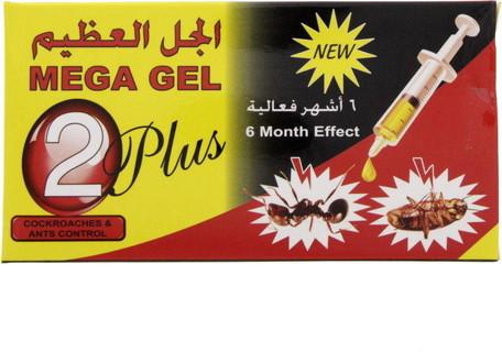 Mega Gel 2 Plus Cockroaches & Ants Control 30 Gm