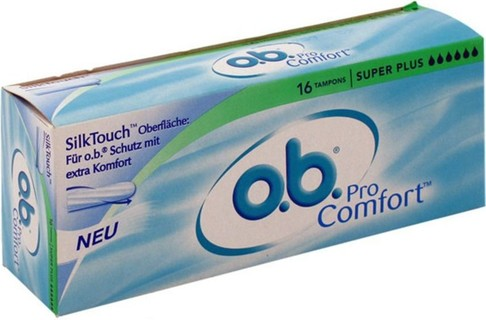 O.B ProComfort Curved Grooves Super Plus 16s