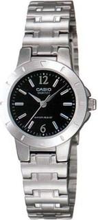 Casio General Women's Watches Silver - LTP-1177A-1ADF 85