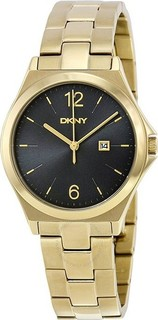DKNY Ladies Parsons Gold Plated Watch NY2366