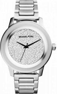 Michael Kors Kinley Diamond Pave Stainless Steel Women s Watch Silver - MK5996