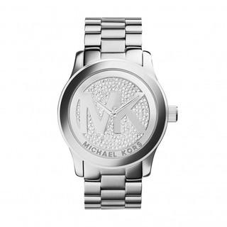8c30096558cc MICHAEL KORS – Runway Glitz Stainless Steel Watch for Women MK5544