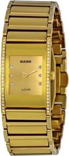Rado Women's R20783732 Integral Champagne Dial Watch