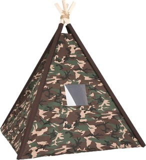 Le Coccole - Military Teepee - Green Brown