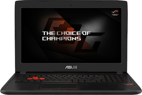 Asus GL502VM-FY126T Laptop (Intel Core i7, 6700 HQ , 2.6 GHZ, 15.6 Inches, 16 GB RAM, 1 TB HDD, 128 GB SSD, Win 10)