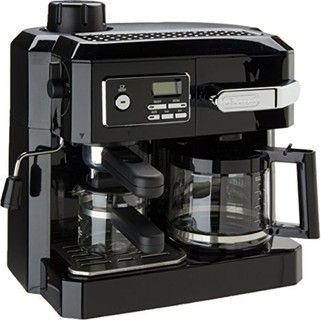 Delonghi Combi Coffee Machine Black