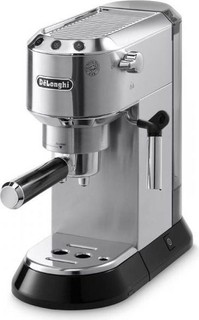 Delonghi Dedica Coffee Maker, Silver - EC680.M