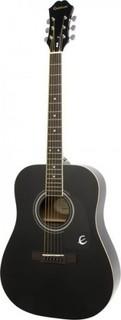 Epiphone Acoustic guitar DR-100 Ebony - Includes Free Softcase