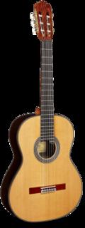 AL Hambra Linea Cedro Professional Semi-Classic Guitar