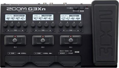 Zoom Multi Effects Guitar Pedal G3Xn