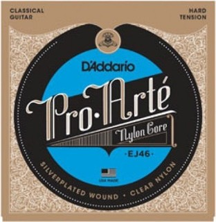 PlanetWaves D'addario Classical Guitar Strings Pro-Arte Nylon Hard Tension