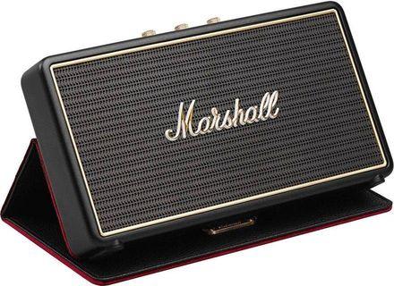 Marshall Stockwell Portable Bluetooth Speaker Black