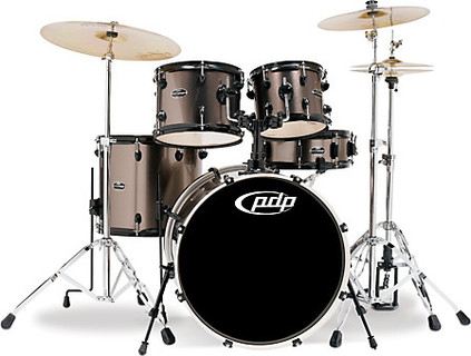 PDP(Pacific Dums Percussion) PDP Drum Mainstage Complete Kit - Bronze Metallic ( WITHOUT CYMBAL )