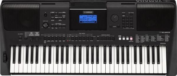 Yamaha Electronic Keyboard, Black - PSR-E453