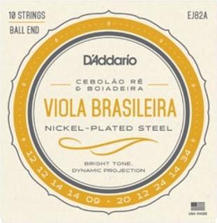 PlanetWaves D'addario Viola Brasileira Set Cebolao Re and Boiadeira