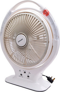 Sonashi SRF-114 Table Fan, 14 Inches, Rechargeable