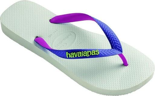 Havaianas Kids Top Mix White Flip Flops