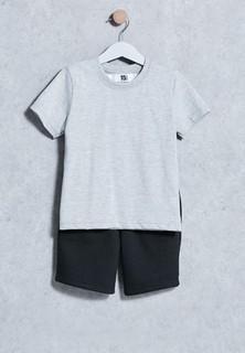 Fifteen Minutes Kids T-Shirt + Shorts Set