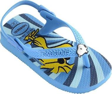 Havaianas Baby Snoopy Blue Flip Flops