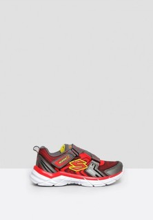 Skechers Rive Start Up Kids Shoes - Red Grey