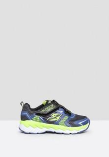 Skechers Zipperz Kids Shoes - Black Navy