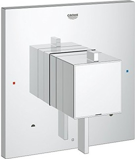 Grohe Grohflex Cosmo Square Dual Function Pressure Balance Trim With Control Module