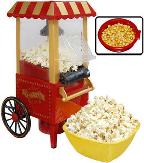 Home Chocolate Fountain With Pop Corn & Candy Cotton Maker