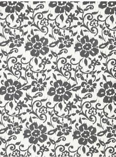 KUNGSLILJA Fabric, white dark grey