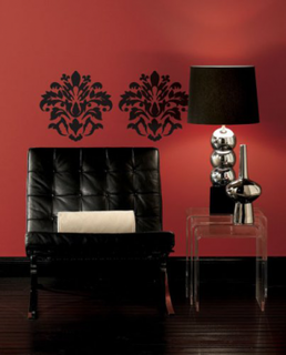 RoomMates Damask Peel and Stick Wall Decals