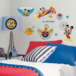 RoomMates Mickey Mouse Clubhouse Pilot Wall Decals