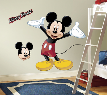 RoomMates Mouse Peel and Stick Giant Wall Decal