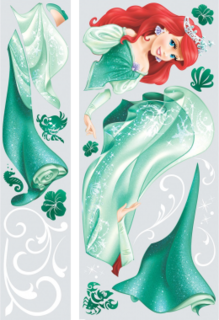 RoomMates Princess Ariel Giant Wall Decals