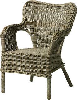 BYHOLMA Armchair, grey