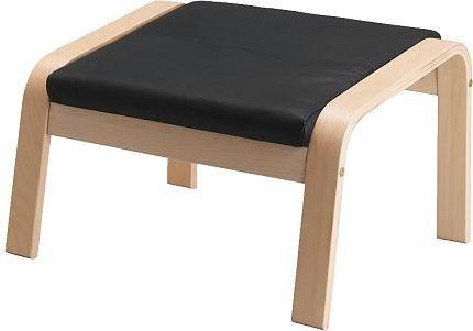 POAeNG Footstool cushion, Smidig black