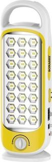 Sonashi Rechargeable Emergency LED Lantern Yellow - SEL-695YL