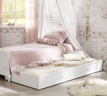 Cilek Romantic Pull-out Bed (90x190 Cm)