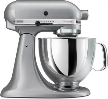 Kitchenaid ksm150pssm artisan series 5 quart stand mixer for Kitchenaid f series