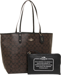 Coach F36658-IMAA8 Reversible City Tote in Signature Bag