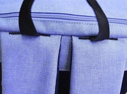 15 15.6 inch Laptop travel shoulder backpack Bag For Macbook Notebook HP DELL Acer Light Blue color 57